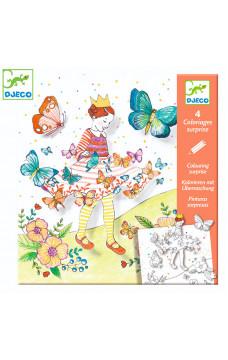 Картини изненада Djeco - Lady butterfly