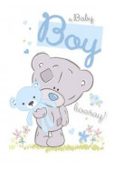 Картичка за новородено момченце