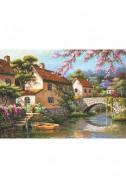 Каналът покрай селото
