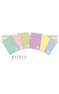 Тетрадка One Color UV Mat Pastelo А4 - малки квадратчета