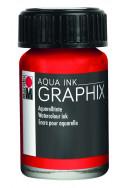 Туш  Aqua Ink 15 мл - 006 цинобър