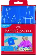 Детска престилка Faber-Castell - синя