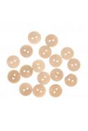 Копчета - натурални, 15 мм, комплект 50 бр.