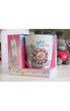 Чаша с надпис в подаръчна опаковка YOU ARE THE BEST