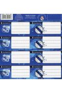 Етикети за тетрадки Real Madrid