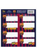 Етикети за тетрадки FC Barcelona