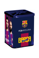 Метален моливник FC Barcelona