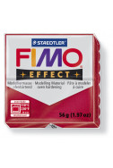 Полимерна глина Fimo Effect  рубинено червен