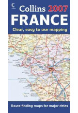 Map of France 2007